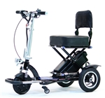 Enhance Mobility T3045-BK Triaxe Sport Foldable Scooter - Black
