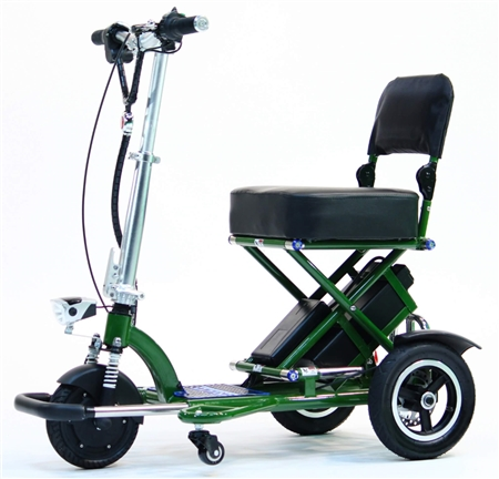 Enhance Mobility T3045-G Triaxe Sport Foldable Scooter - Green