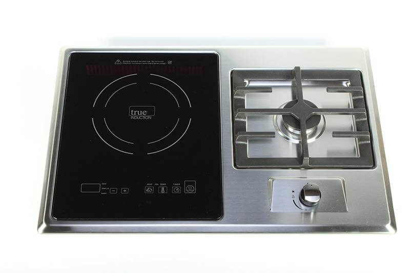 Ti 1 1b Gas Burner And Induction Cooktop