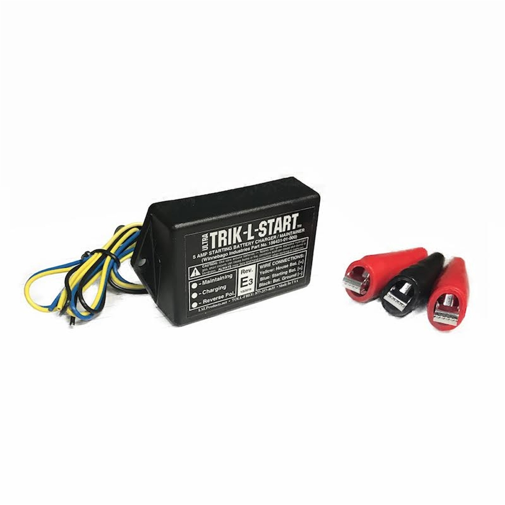 Lsl Products Trik L Start 5 Amp Starting Battery Charger Winnebago Ac Wiring Ultra Maintainer With Clips