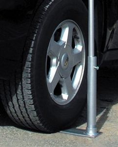 Flagpole To Go TTTM The Tailgater's Tire Mount 14 Base