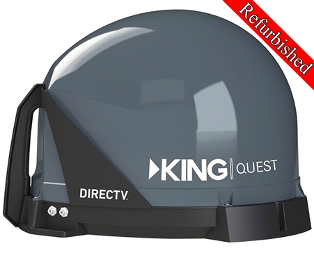 King Quest Satellite TV Antenna Refurb