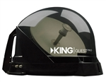 KING Quest Pro VQ4800 Premium RV Satellite Antenna - Smoke
