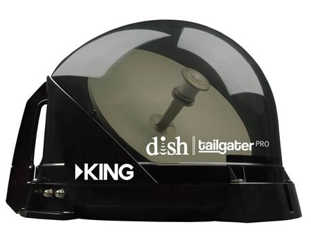 King Dish Tailgater Pro Vq4900 Premium Rv Satellite Antenna