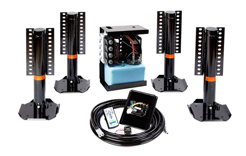 Bigfoot Ford E-350 EZ Wireless Leveling System