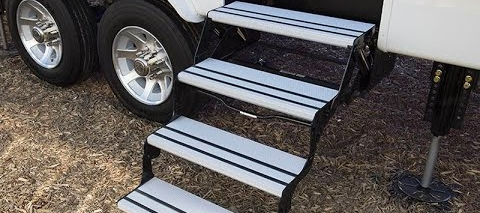 Interior and Exterior Steps, Rugs & Ladders | RV Upgrade Store