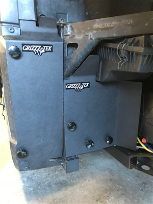 REAR MUD GUARD SET FOR 2013 -  2019 POLARIS RANGER 900XP, SINGLE AND CREW CAB