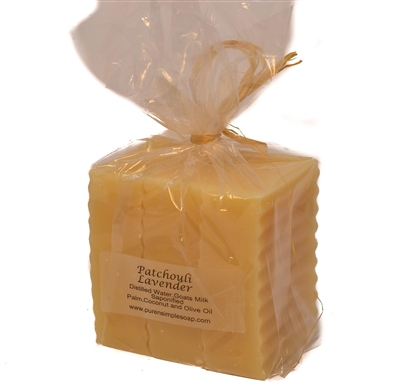 Goat Milk Soap Bar 3- pk Combo- Unwrapped