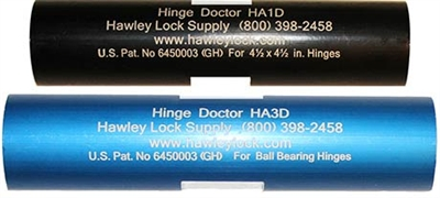 New Hinge Doctor HA13-D, adjust normally, or with a Crescent Wrench.