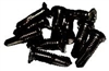SK100B black finish, Self drilling, self tapping #14 screws with #12 head (100 pack)