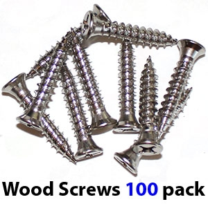 WSK100 Self drilling, self tapping wooden frame #14 screws with #12 head (100 pack)