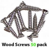 WSK50 Self drilling, self tapping wooden frame #14 screws with #12 head (50 pack)