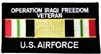 VIEW USAF Iraq Patch