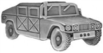 VIEW HUMVEE Lapel Pin