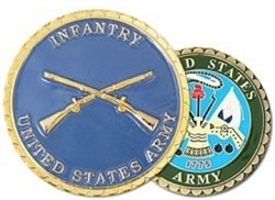 United States Army Infantry Challenge Coin