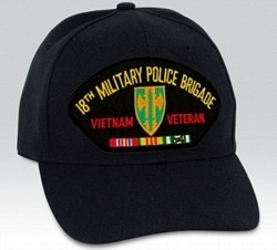 VIEW 18th MP Bde Viet Vet Ball Cap