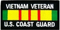 US Coast Guard Vietnam Veteran Patch