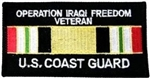 VIEW USCG Iraqi Freedom Veteran Patch