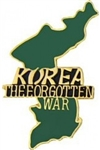 VIEW Korea The Forgotten War Lapel Pin