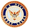 US Navy Great Lakes Pin