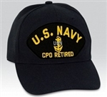VIEW US Navy CPO Retired Ball Cap