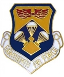 VIEW 18th AF Lapel Pin