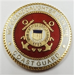 VIEW Coast Guard Granddaughter Lapel Pin