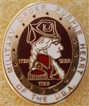 VIEW Military Order of the Purple Heart  Hat Pin