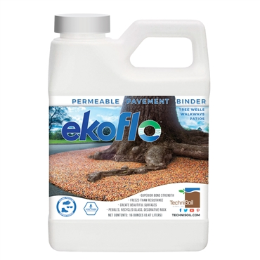 TechniSoil EkoFlo Permeable Pebble Binder (16-ounce bottle)