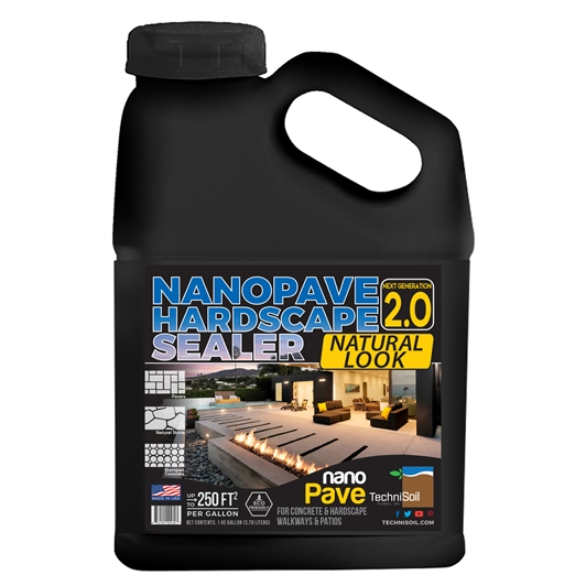 TechniSoil NanoPave Hardscape Sealer - Low Sheen (1-gallon bottle)