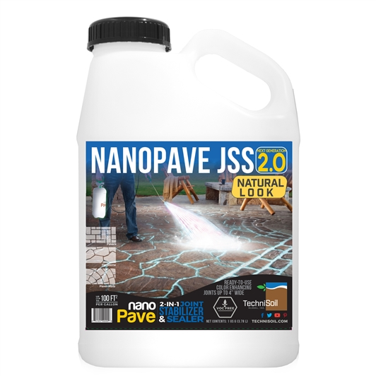 TechniSoil NanoPave Natural Look 2-in-1 Joint Stabilizer & Sealer (1-gallon bottle)