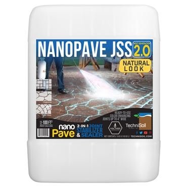 TechniSoil NanoPave Natural Look 2-in-1 Joint Stabilizer & Sealer (5-gallon bottle)