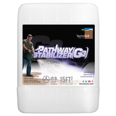 TechniSoil G3 - Pathway Stabilizer (5-gallon bottle)
