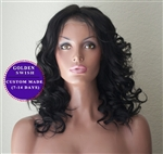 'Chloe' - Pre-Styled Custom Made Lace Wig
