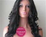 'Sade' - Pre-Styled Custom Made Lace Wig
