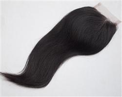Sleek Straight Closure