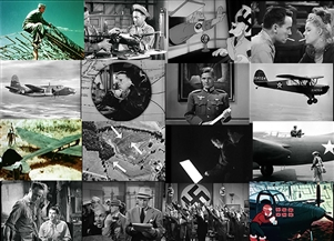 Scenes from Air Reconnaissance, Combat Counter- Intelligence, Camouflage & Espionage in World War 2