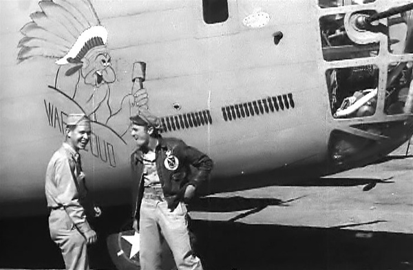Photo Of Crew Members The Consolidated B 24 Liberator Bomber War Cloud 98th