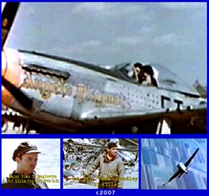 World War 2 photos of North American P-51D Mustangs.