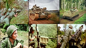 Photos of the US army from the Vietnam War: