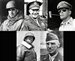 Eisenhower, Patton, MacArthur, Stilwell & Bradley