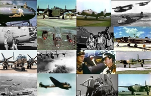 Still photos taken from The World War 2 Bomber Collection.