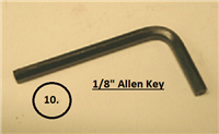 "Lightning Grouter 1/8"" Allen Wrench Key"