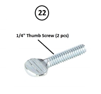 "1/4"" Thumb Screw"