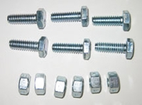 912 Arm Bolts & Lock Nuts (6) 1/4-20 X 3/4