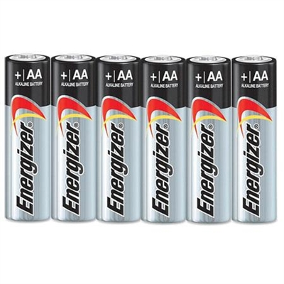 AA Duracell Alkaline batteries 6 pack
