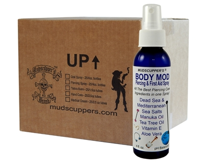 Body Mod Piercing & First Aid Spray - Piercing Aftercare