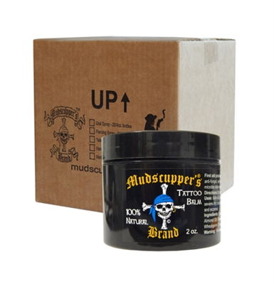 Mudscupper's Tattoo Balm - Ointment Large 2.0 oz. x 24 Wholesale