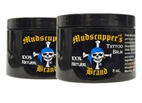 Professional Tattoo Balm by Mudscupper's 8 oz. Wholesale
