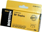 "B8 (STCRP2115) 1/4"" Staples, Bostitch brand"